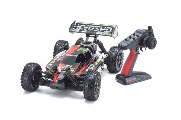 INFERNO NEO 3.0 T2 (Red) w/KT-231P+ 1/8 GP 4WD Buggy Readyset RTR 33012T2