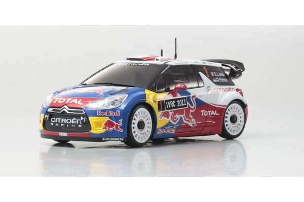 R/C EP Touring Car MINI-Z AWD +D Evo. CITROEN DS3 WRC 2011 No.1 Sebastien Loeb 32152SL