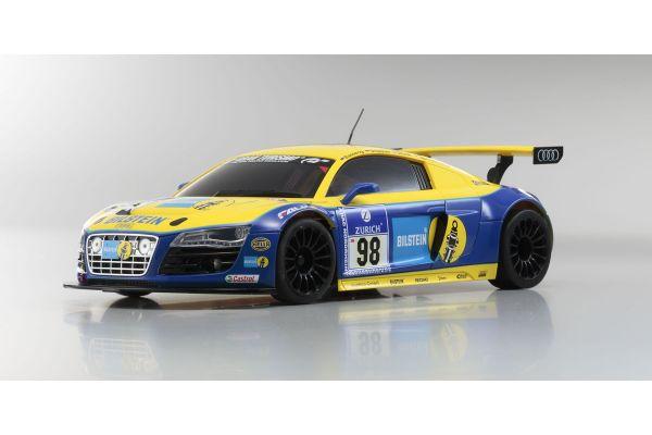 ミニッツAWD MA-020 ASF ボディ/シャシーセット Audi R8 LMS NBR 2010 #98 32153BT