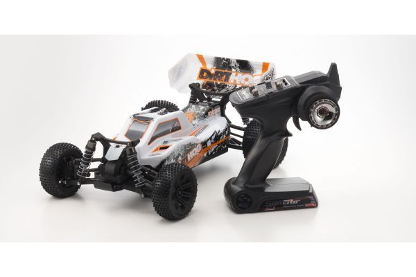 Electric Powered R/C 4WD Racing Buggy EP Fazer Dirthog Readyset with T1 Orange KT-200 Transmitter 30993T1