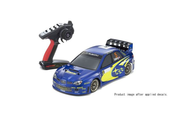 Radio Controlled .15 Engine Powered Touring Car Series PureTen GP 4WD FW-06 readyset SUBARU IMPREZA WRC 2006 w/KT-231P+ 33209