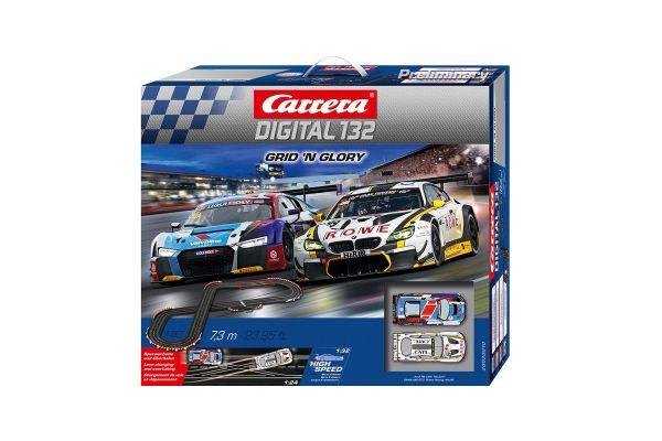 1/32 スロットカー カレラ Digital132 Grid 'n Glory (1/32スロットカー2台入り) 20030010