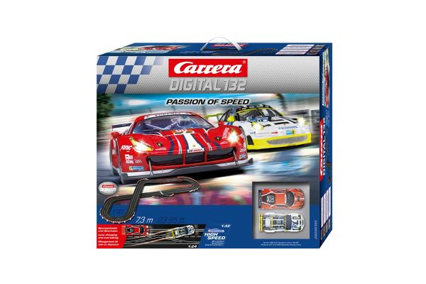 1/32 スロットカー カレラ Digital132 パッション オブ スピード(スロットカー2台入り) 20030195