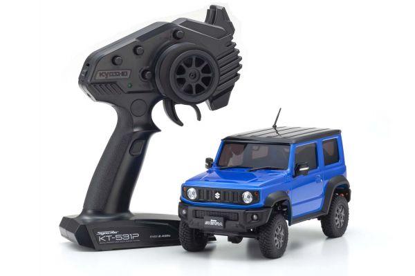 Radio Controlled Electric Powered Crawling car MINI-Z 4×4 Series Ready Set Suzuki Jimny Sierra Brisk Blue Metallic 32523MB