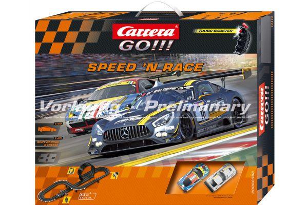 1/43 スロットカー カレラ GO!!! スピード&レース(アナログタイプ) 20062396