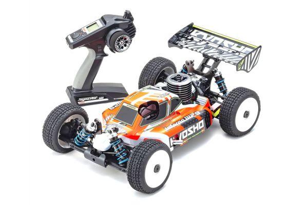 1/8スケール ラジオコントロール 21エンジン 4WDレーシングバギー レディセット インファーノ MP9 TKI4 V2 33021