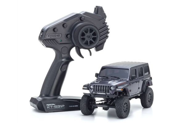 Radio Controlled Electric Powered Crawling car MINI-Z 4×4 Series Readyset JeepⓇ Wrangler Unlimited Rubicon Granite Crystal Metallic 32521GM