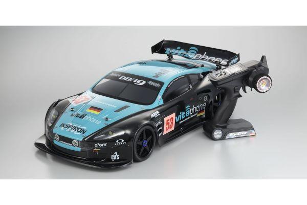 1/8 RC ブラシレスパワード 4WD ツーリングカー INFERNO GT2 VE RACE SPEC レディセット ビータフォンレーシングチーム アストンマーチンレーシング DBR9 No.53 30936