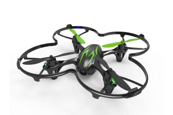 電動マイクロクアッドコプター HUBSAN X4 Cam レディセット(ブラック/グリーン) 20154BG
