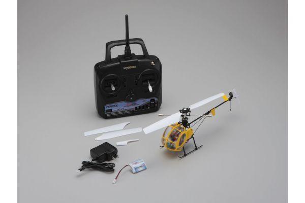 1/25 電動マイクロヘリコプター ファイヤーフォックス180 S300 レディセット 20212