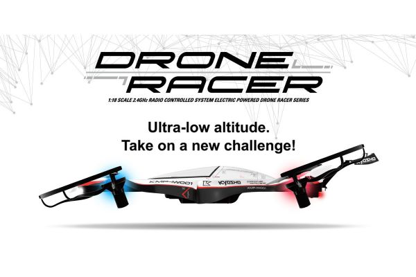DRONE RACER G-ZERO Dynamic White Readyset RTF 20571W