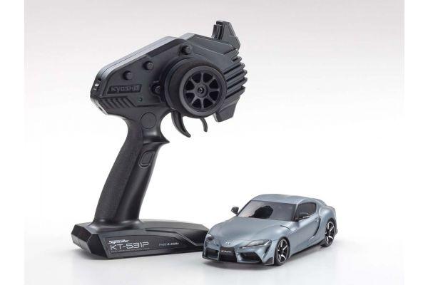 MINI-Z AWD TOYOTA GR SUPRA Matt Storm Gray Metallic 32619GM