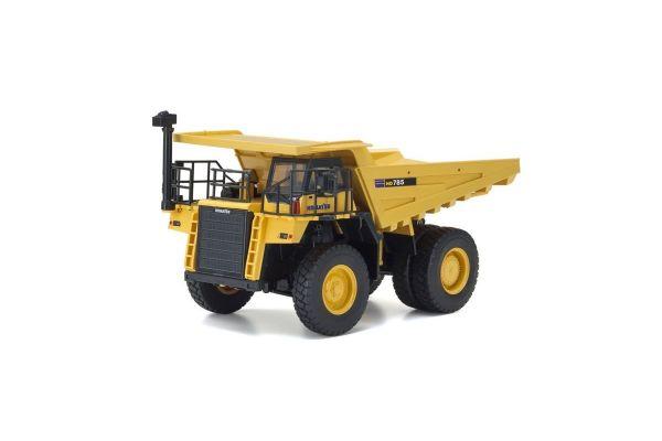 1 50 Scale Electric Powered Construction Vehicle Series Hg Version Dump Truck Komatsu Hd785 7 66003hgc Kyosho Rc