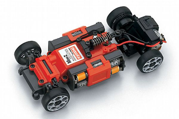 R/C EP TOURING CAR MINI-Z MR-015 CHASSIS SET (transmitter not included) Fitted with RA-4B FET Amp 30370F