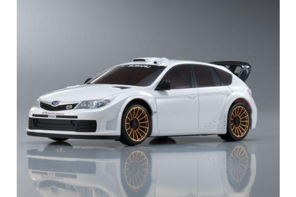 R/C EP TOURING CAR SUBARU IMPREZA WRC2008 (Plain Color Version) White 30577ZW