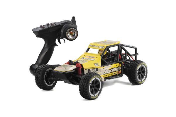 EZ Series SANDMASTER (Yellow) 1/10 EP 2WD Buggy Readyset RTR 30831T2