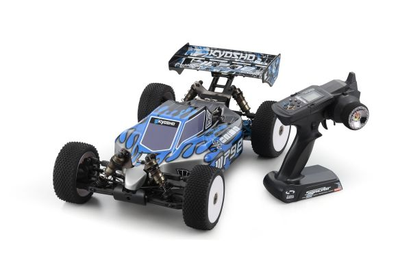 Brushless Motor Powered 4WD Racing Buggy Inferno MP9e TKI Readyset Color Type I  : Black/Blue 30877T1
