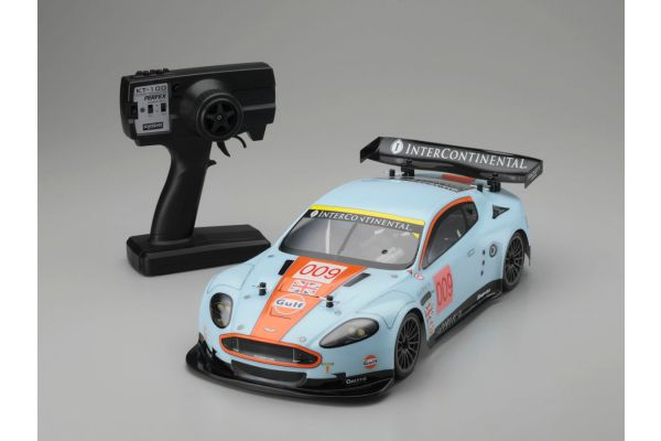 EP 4WD Touring Car Aston Martin Racing DBR9 No.009 LM 2008 w/PERFEX KT-100 30903J
