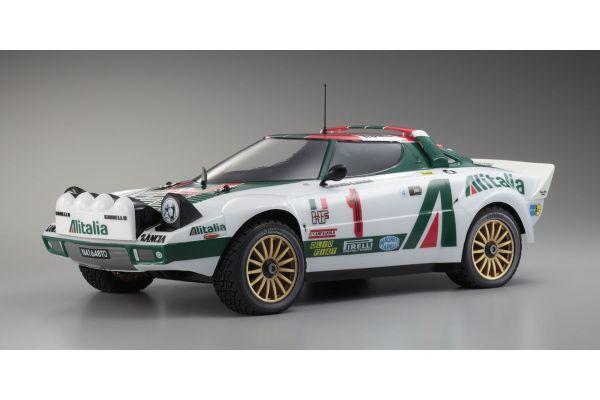 R/C 18 Engine Powered 4WD Rally Car DRX Lancia Stratos WRC  31044K
