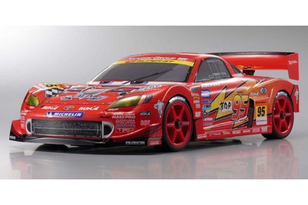 PureTen GP 4WD V-ONE SIII Evo. Lightning McQueen apr MR-S Kit with New Touch Starter 31350T