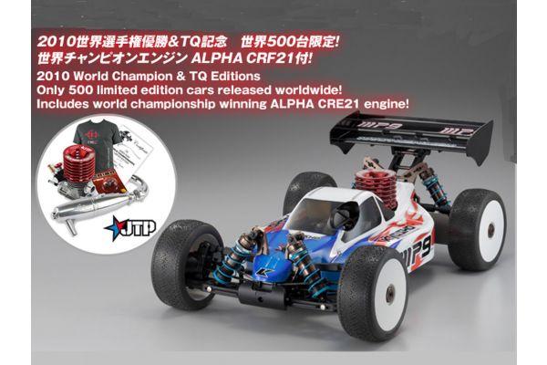 GP 4WD RACING BUGGY INFERNO MP9 TKI2 KIT Jared Tebo SP Combo Set (TQ) with ALPHA CRF21 Engine 31785JT