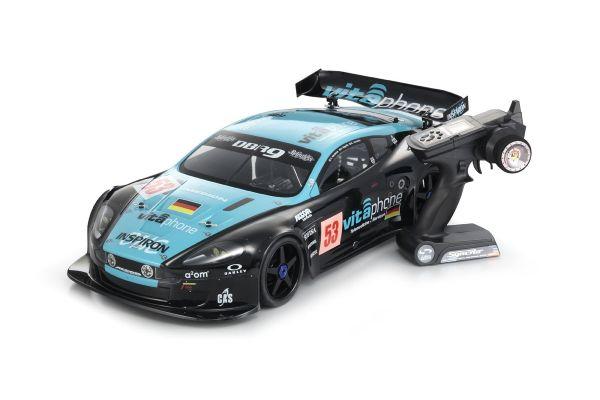 インファーノGT2 RACE SPEC ビータフォンレーシングチーム アストンマーティンレーシング DBR9 No.53 1/8 GP 4WD レディセット 31834