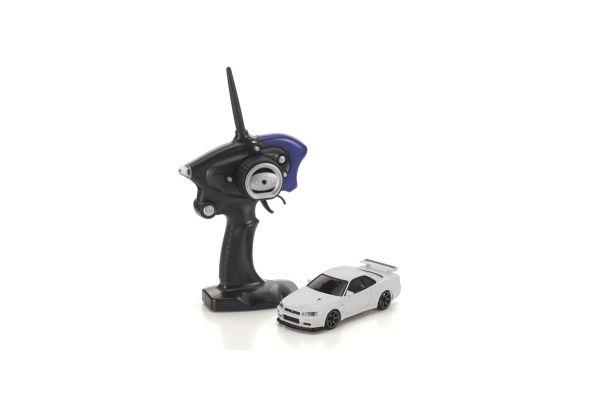 ミニッツAWD MA-020スポーツ レディセット 日産 スカイラインGT-R R34 V.spec II ニュル ホワイト 【ドリフトタイヤ標準装着済み】 32132W