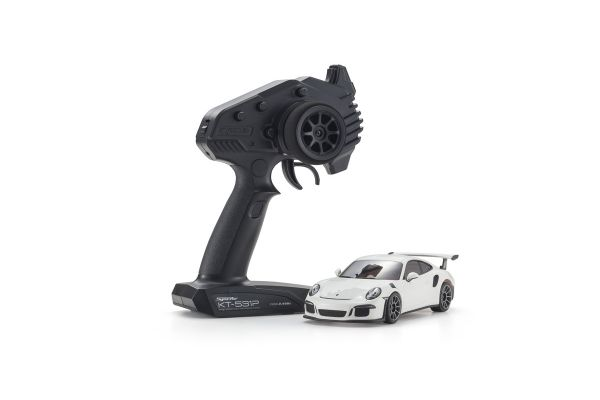 MINI-Z RWD Porsche 911 GT3 RS White Readyset RTR 32321W