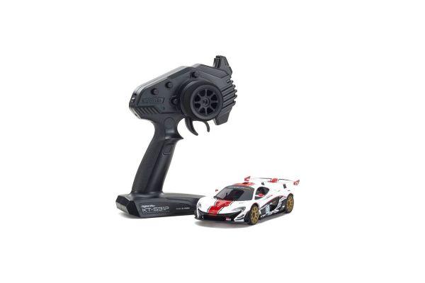 MINI-Z RWD Series Ready Set McLaren P1™ GTR White/Red 32324WR
