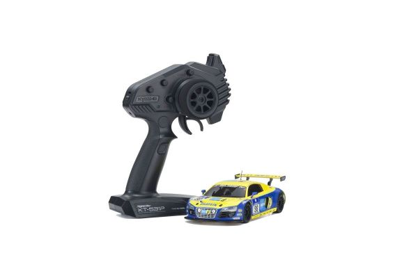 MINI-Z RWD Series Ready Set Audi R8 LMS Phoenix Racing NBR 2010 #98 32329BT