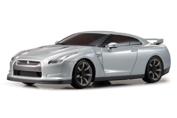 Kyosho Mini-Z Rwd Nissan GTr R35 Ultimate Silber Metallic N-Rm Kt531p KYO32331S