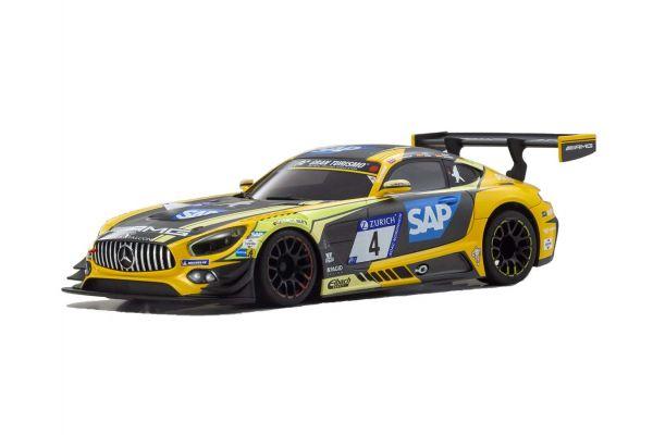 ASC MR03W-MM Mercedes-AMG GT3 Yellow/Bk MZP241YBK