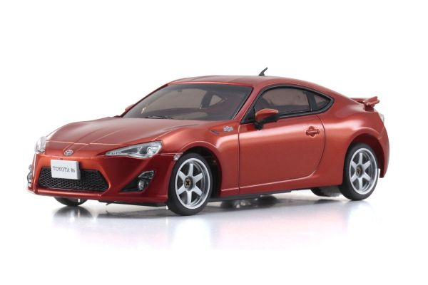 R/C EP RACING CAR TOYOTA 86 Metalic Orange 32411MO