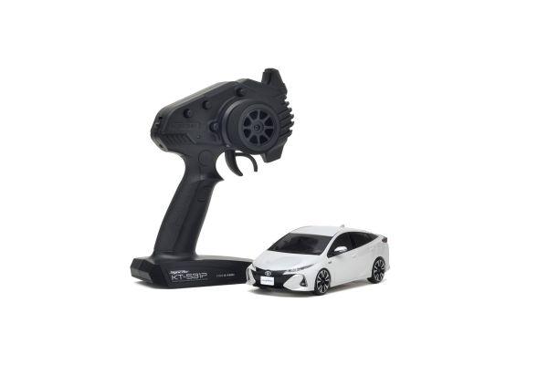 ミニッツFWDシリーズ トヨタ プリウス PHV ホワイトパールクリスタルシャイン レディセット 32423WP