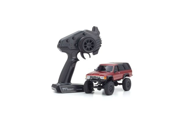 Radio Controlled Electric Powered Crawling car MINI-Z 4×4 Series Ready Set Toyota 4Runner(Hilux Surf) Metallic Red 32522MR