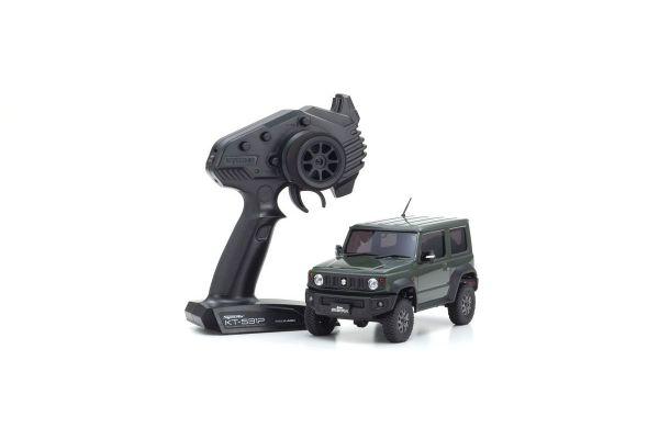 ラジオコントロール 電動 クローリングカー ミニッツ4×4シリーズ レディセット スズキ ジムニーシエラ ジャングルグリーン 32523GR