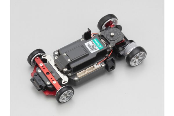 R/C EP RACING CAR dNaNo FX-101 Chassis Set SP Limited for Porsche 962C  32601SPCS