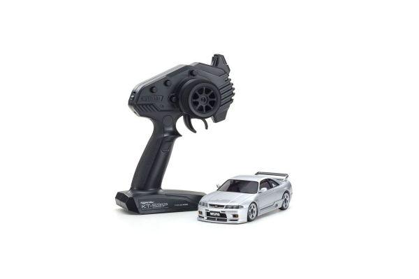 ミニッツAWD 日産 スカイライン GT-R ニスモ(R33) シルバー レディセット 32616S