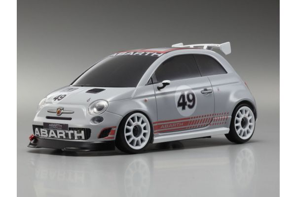 R/C EP Touring Car ABARTH 500 Assetto Corse Grey 32707GR
