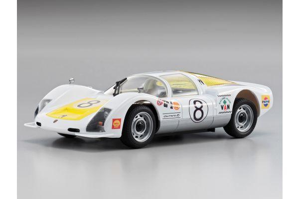 R/C EP Touring Car Porsche906 #8 1967 JAPAN GP 32714T