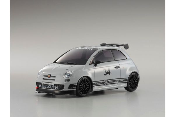 R/C EP Touring Car ABARTH 695 ASSETTO CORSE Grigio Campovolo 32715GB