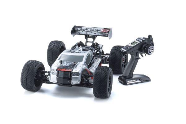 インファーノ NEO ST レーススペック 2.0 カラータイプ1 シルバー KT-331P付 1/8 GP 4WD レディセット 33002T1
