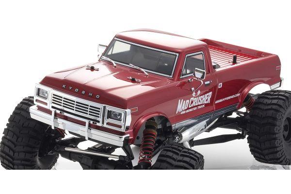 マッドクラッシャー 1/8 25エンジン 4WD モンスタートラック レディセット 33153