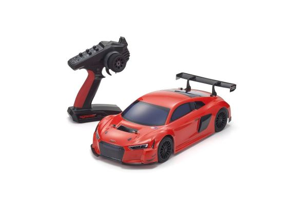 Radio Controlled .15 Engine Powered Touring Car Series PureTen GP 4WD FW-06 readyset Audi R8 LMS 2015 (red) w/KT-231P+ 33210