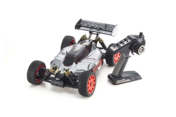 INFERNO VE T2 w/KT231P 1/8 EP(BL) 4WD Buggy Readyset RTR 34101T2