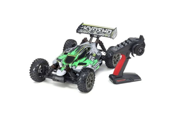 1:8 Scale Radio Controlled Brushless Motor Powered 4WD Racing Buggy INFERNO NEO 3.0 VE Color type 1 Green w/KT-231P+ 34108T1