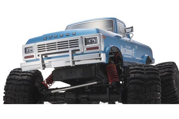 マッドクラッシャー VE 1/8 EP 4WD モンスタートラック レディセット 34253