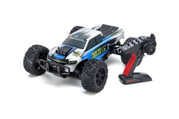 1:8 Scale Radio Controlled Brushless Powered 4WD Monster Truck PSYCHO KRUISER VE 2.0 readyset w/KT-231P+ 34256
