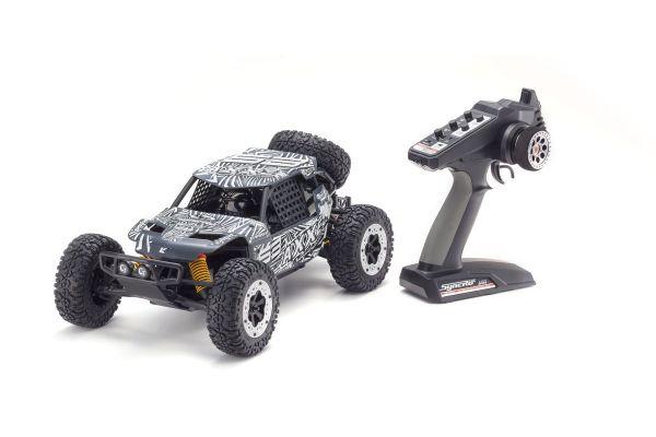 EZ Series AXXE (Gray) w/KT-231P 1/10 EP 2WD Buggy Readyset RTR 34401T4