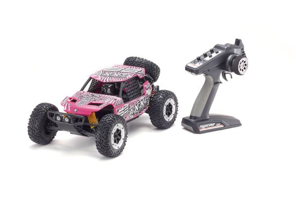 EZ Series AXXE (Pink) w/KT-231P 1/10 EP 2WD Buggy Readyset RTR 34401T5